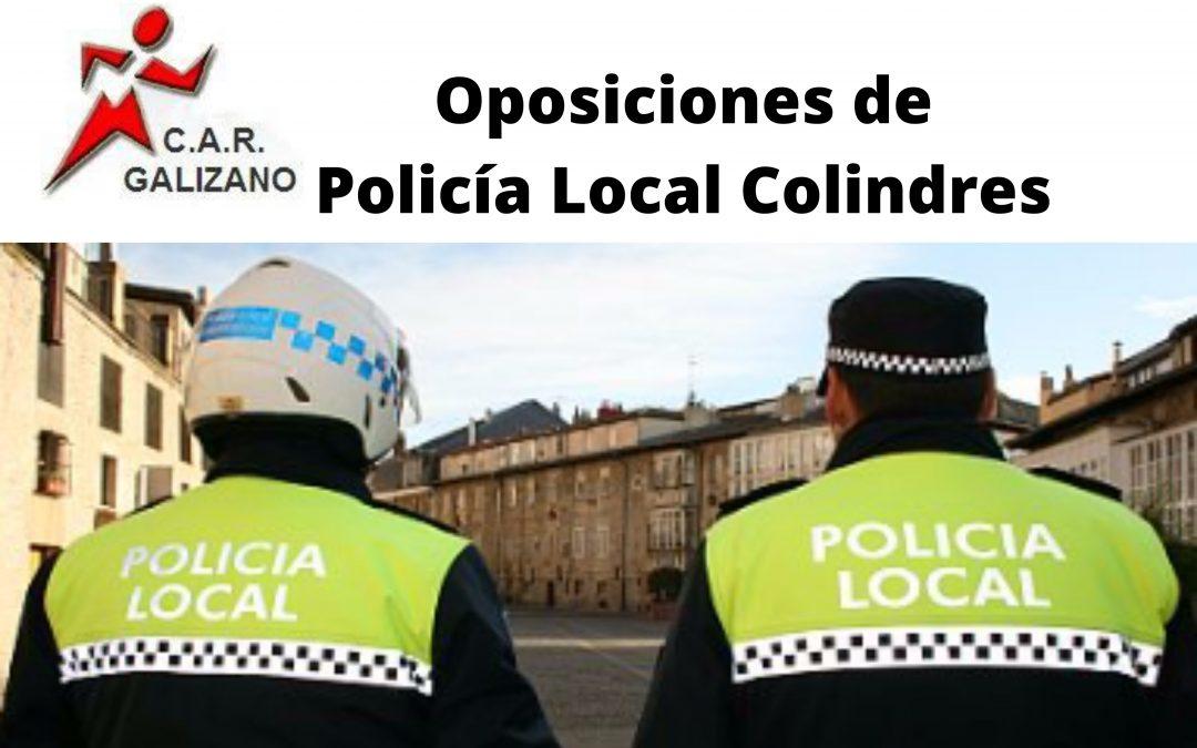 CONVOCATORIAS POLICÍA LOCAL COLINDRES 2020