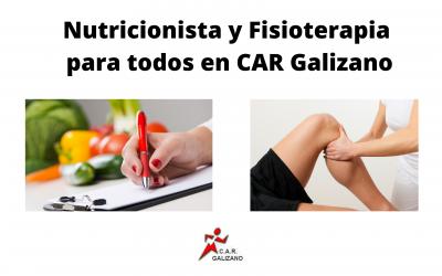 Nutricionista y Fisioterapia en Galizano