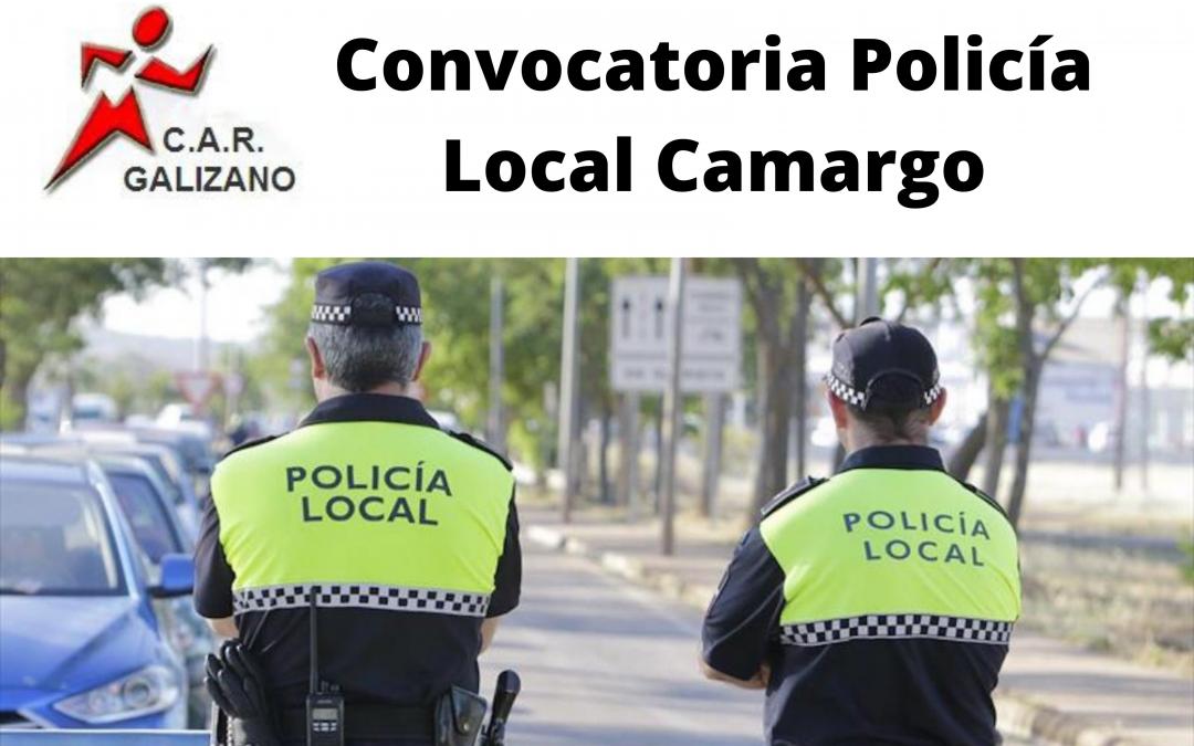 Convocatoria Policía local Camargo