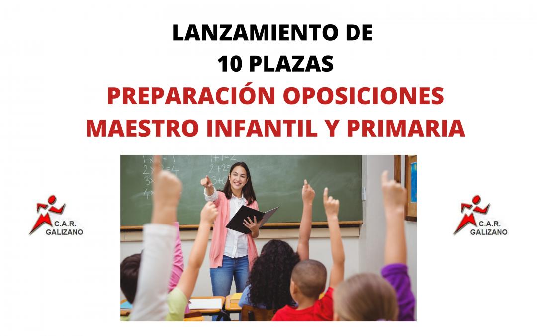Preparación Oposiciones Maestro Infantil y Primaria
